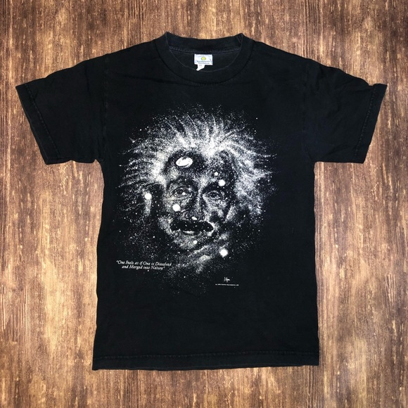 Vintage Other - Vintage 1993 Albert Einstein galaxy tee